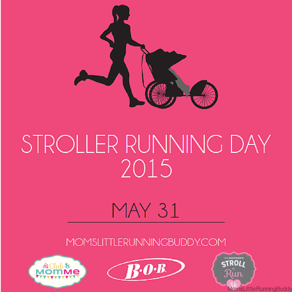 National Stroller Running Day #BOBstrollers #runnermom #homefieldfitness