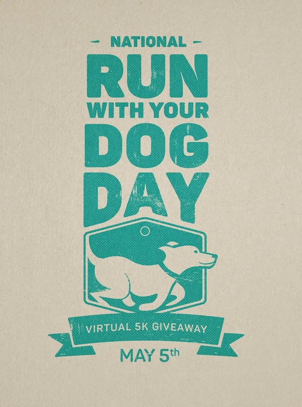 National Run with your Dog Day is May 5th 2015!