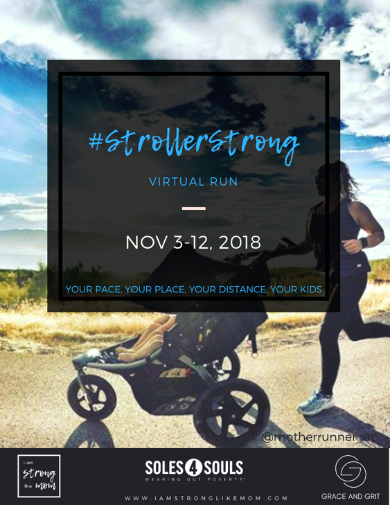 #StrollerStrong Virtual Run 2018 - register here!