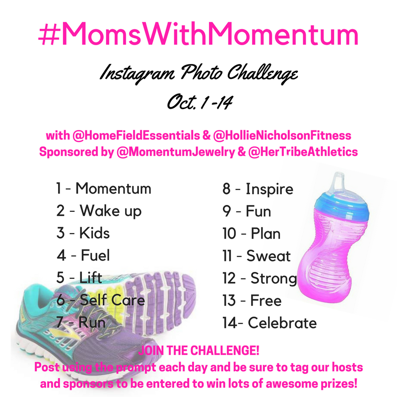 #MomsWithMomentum October Instagram Photo Challenge #momentumjewelry #hertribeathletics