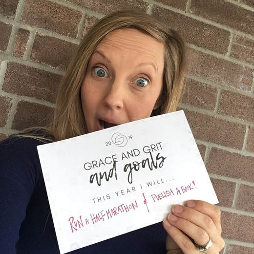 Grace and Grit and Goals from i am STRONG like MOM - New Years Goals and Intentions - Strong Mama Chronicles Blog