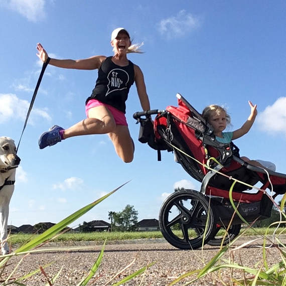 For the Love of a Stroller - Stroller Strong Virtual Run we love BOB strollers!