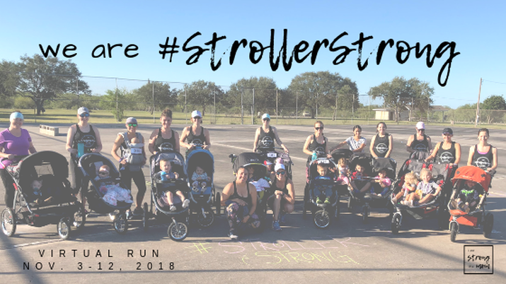 #StrollerStrongVirtualRun Recap - Our Local Fun Run - I am STRONG like MOM and Grace and Grit