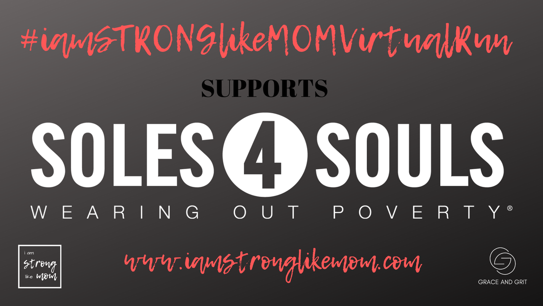 #StrollerStrongVirtualRun supports Soles4Souls