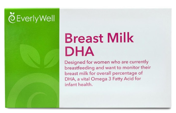 #EverlyWell #WhyIBreastfeed DHA Testing Kit via Home Field Essentials